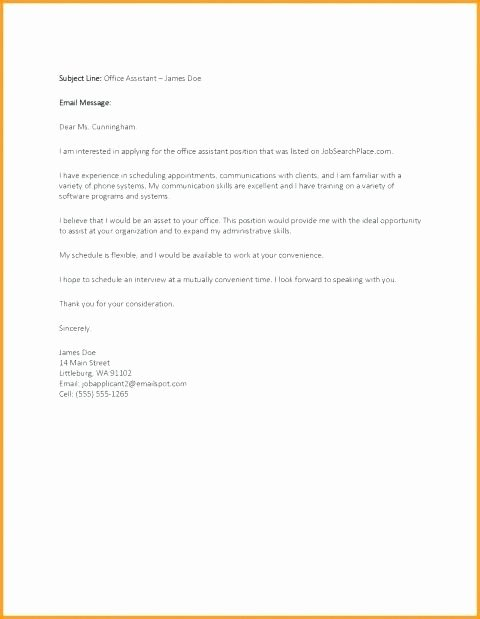 Cold Email Job Inquiry Template Email Template Follow Up
