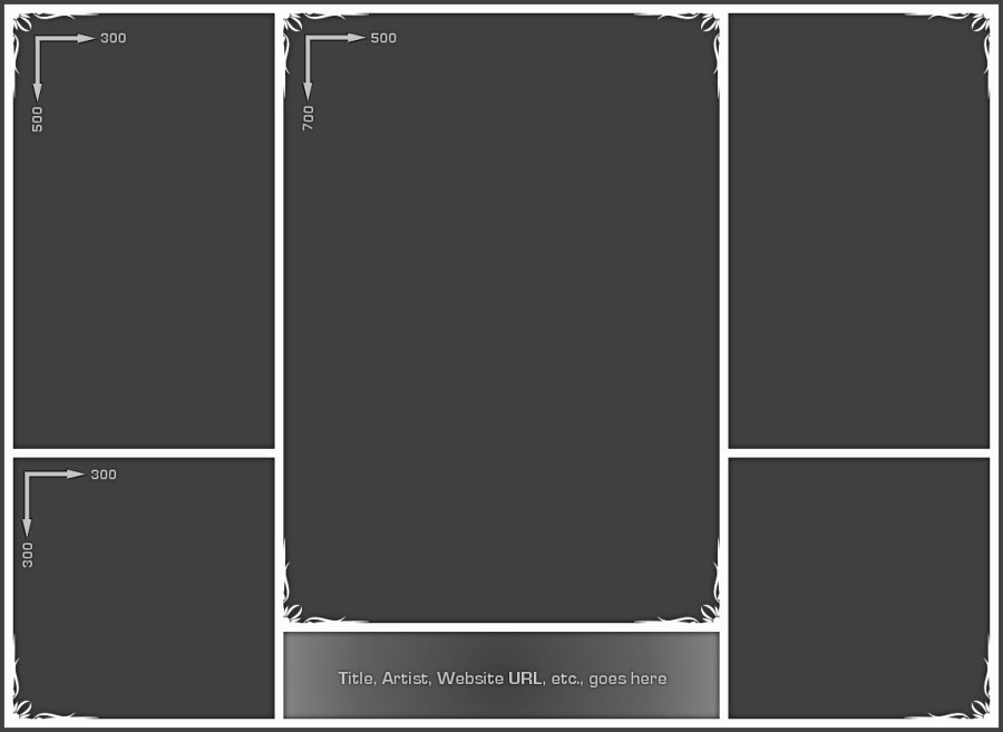 Collage Template 02 by Neyjour On Deviantart