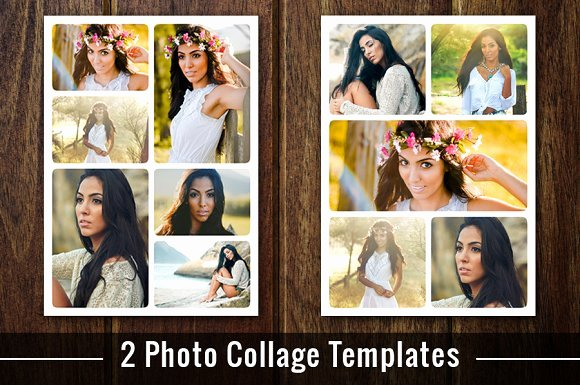 Collage Template Shop Psd Flyer Templates