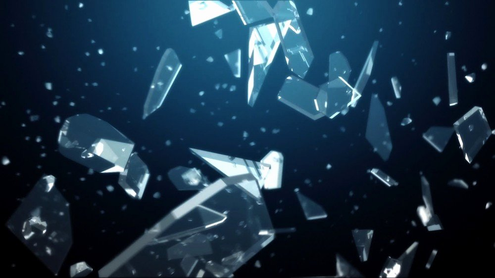 Collateral 3d Glass Logo Reveal after Effects Template