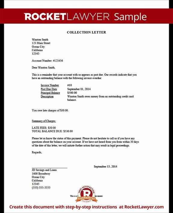 Collection Letter Sample Demand Letter