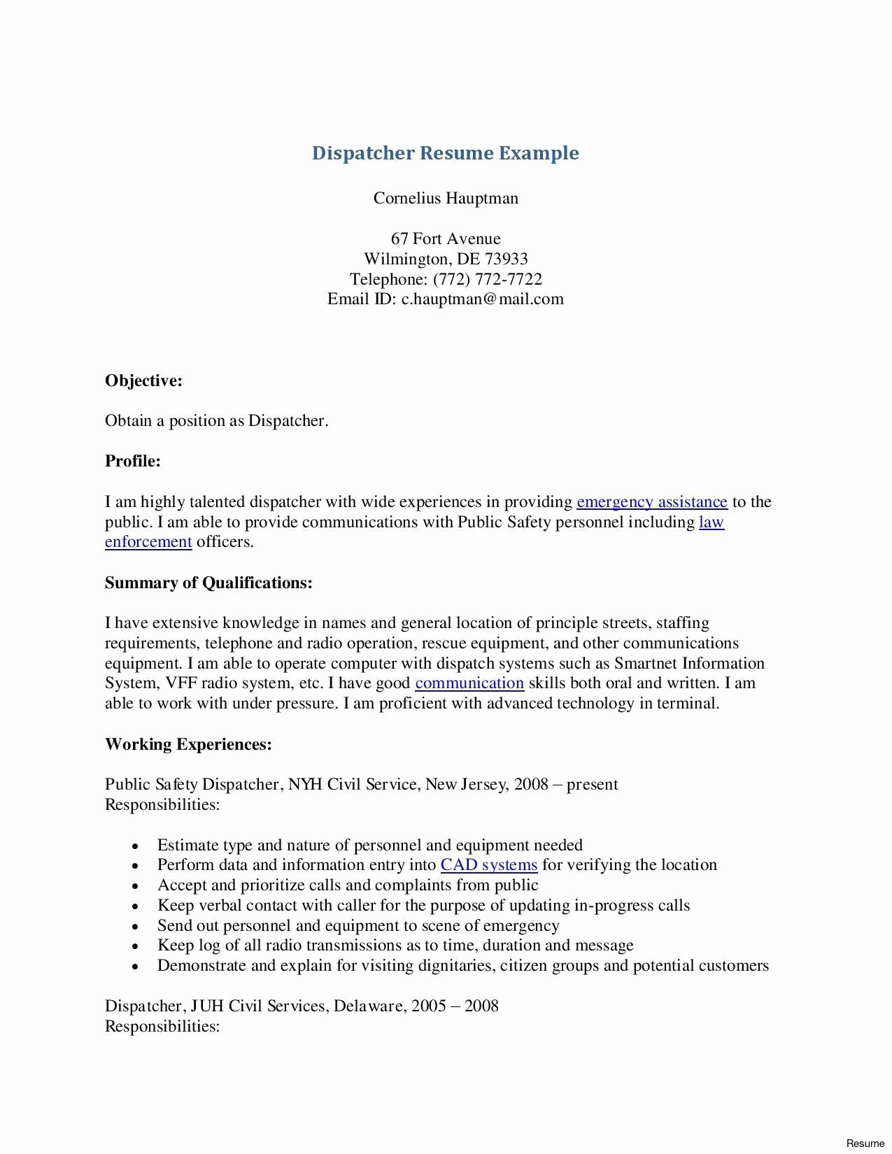 Collection solutions Cover Letter Sample 911 Dispatcher