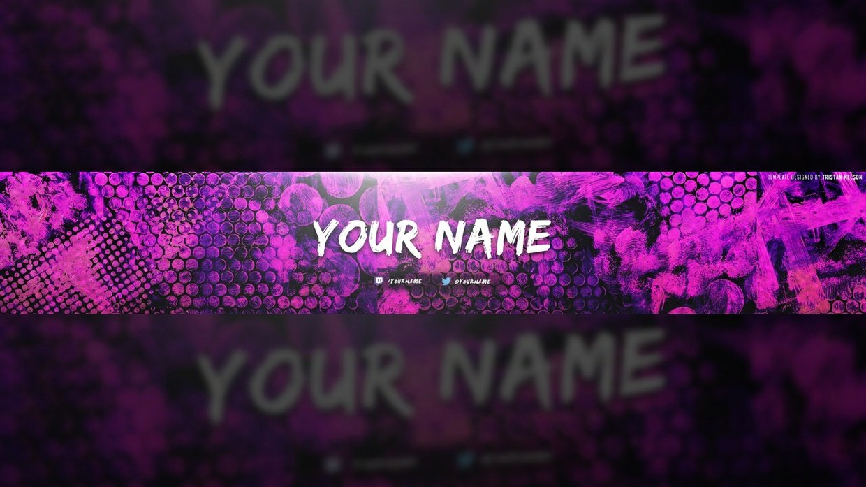 Colorful Texture Banner Template