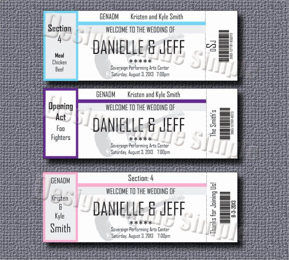 Concert Ticket Template 9 Premium Download