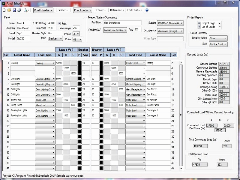 Conduit Fill Calculator Excel