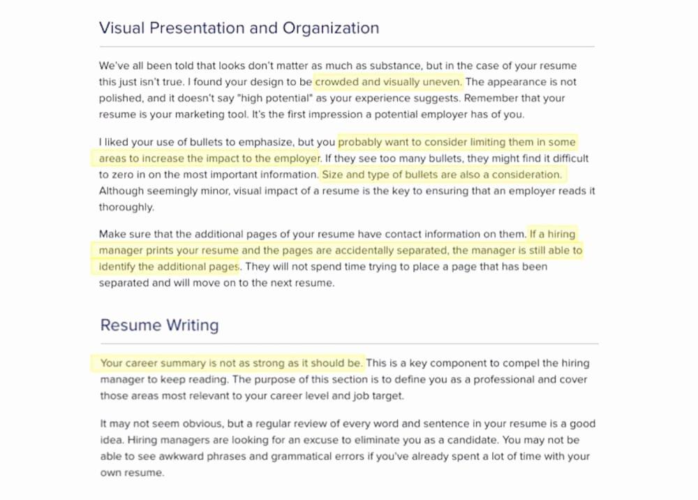 Consider My Resume Talktomartyb