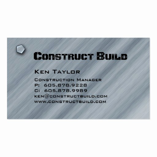 Construction Business Card Templates Page56