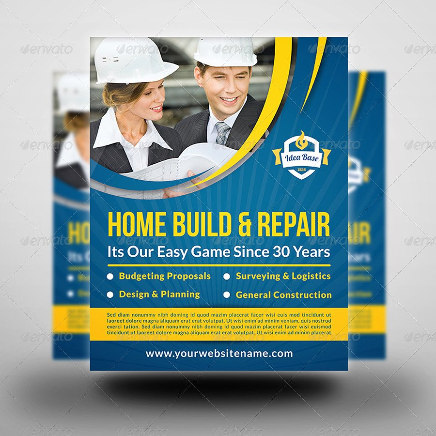Construction Business Flyer Vol 3 by Ow