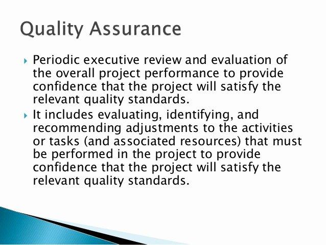 Construction Quality Management Plan Construction