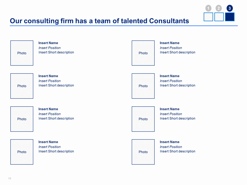 Consulting Proposal Template In Powerpoint