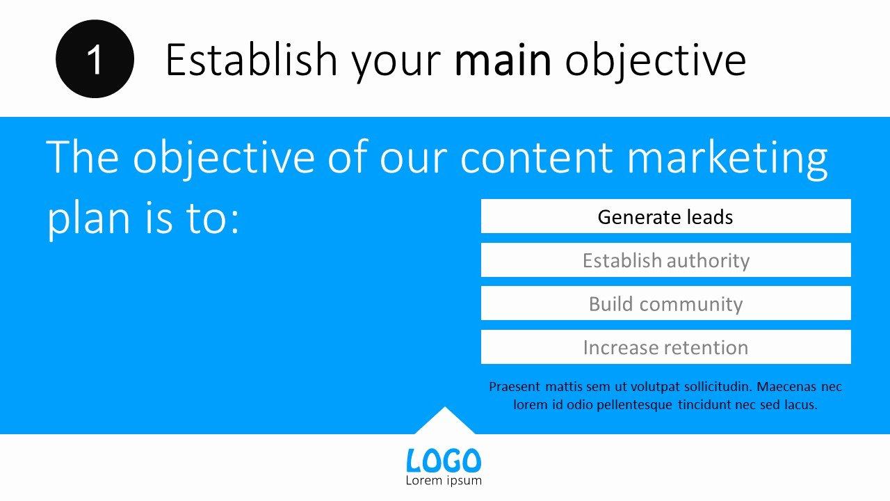 Content Marketing Plan Powerpoint Templates