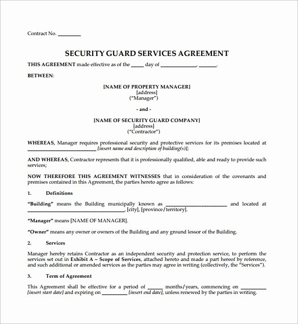 Contract Agreement 9 Download Free Documents In Pdf Word