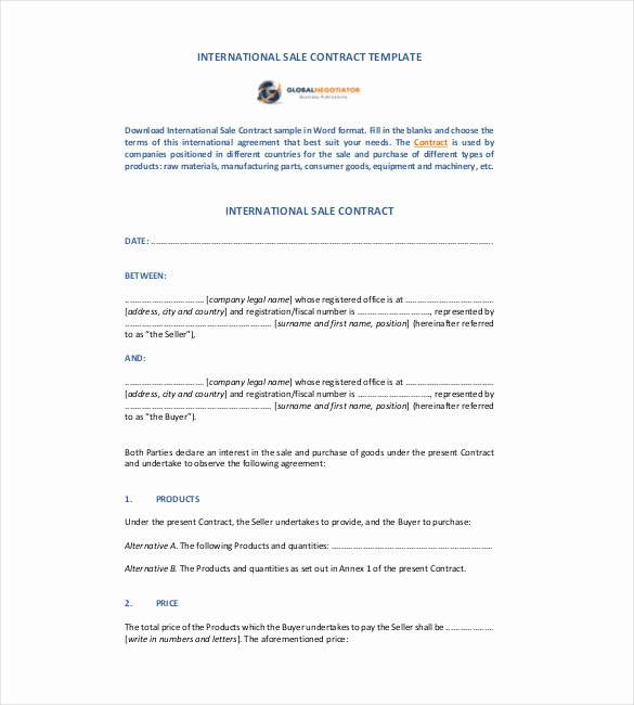 Contract Template – 24 Free Word Excel Pdf Documents