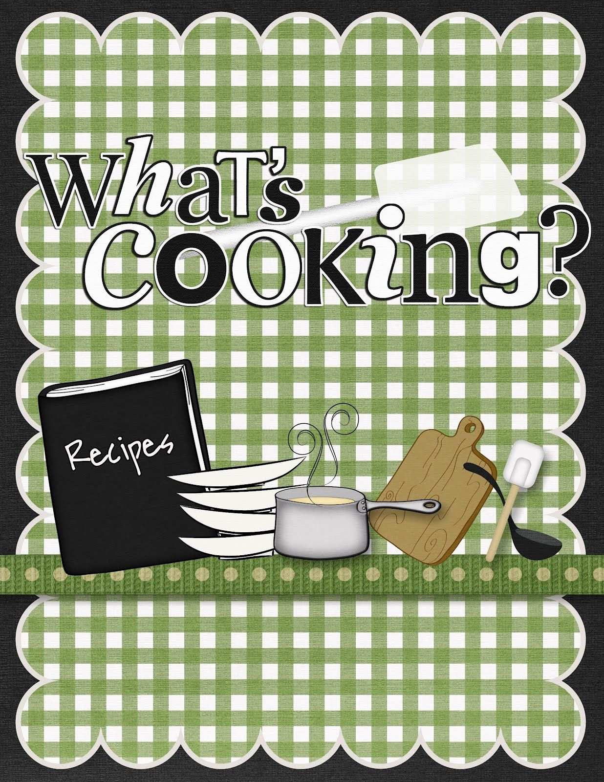 Cook Book Scrapbook Cover Pin if You Like It Books