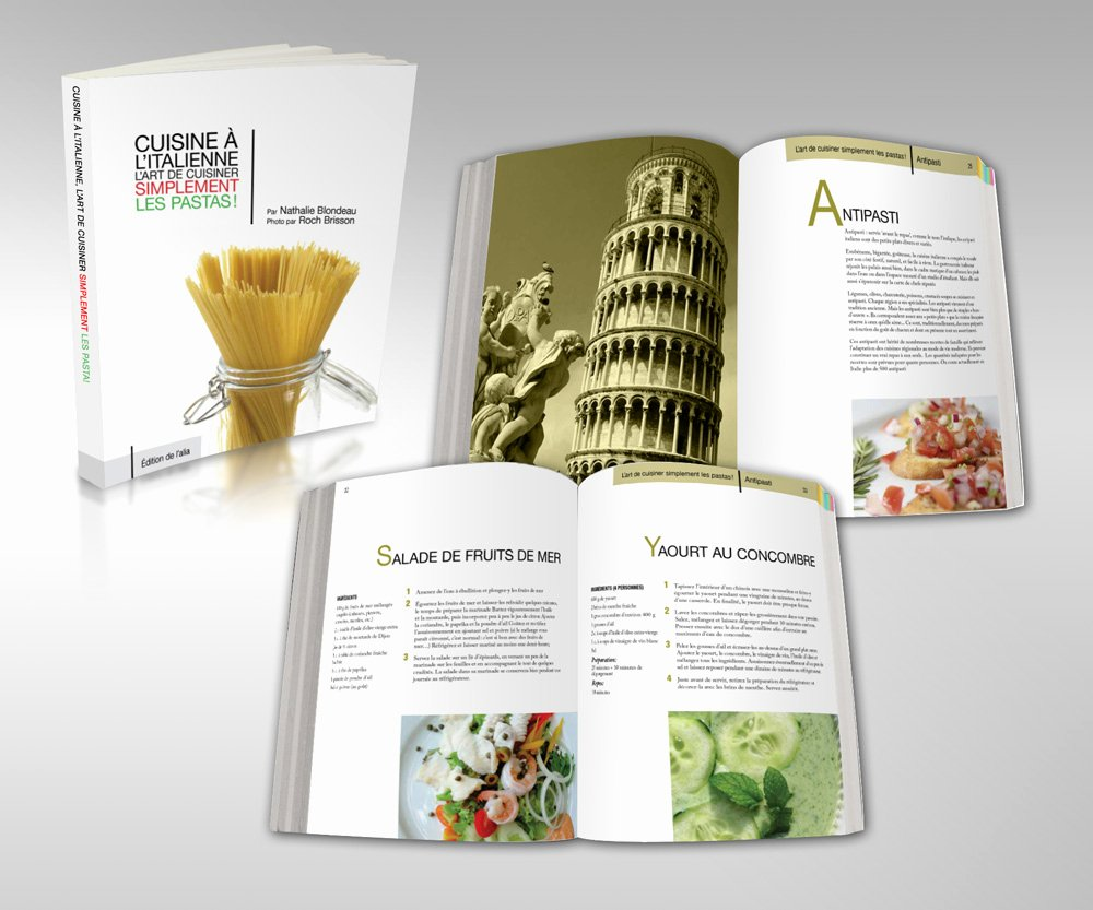 Cookbook Design On Pinterest