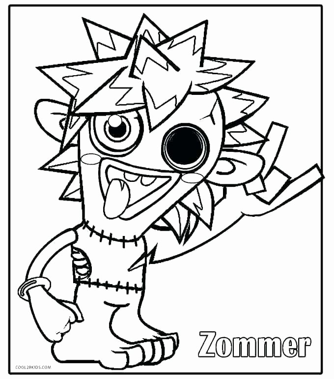 Cookie Monster Printable Free Coloring Pages Page