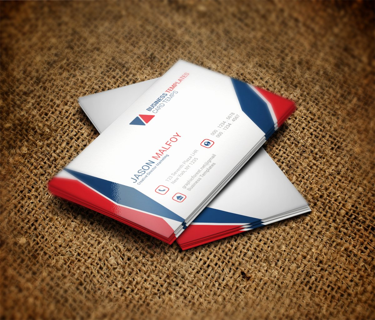 Cool Business Card Template Business Card Templates On