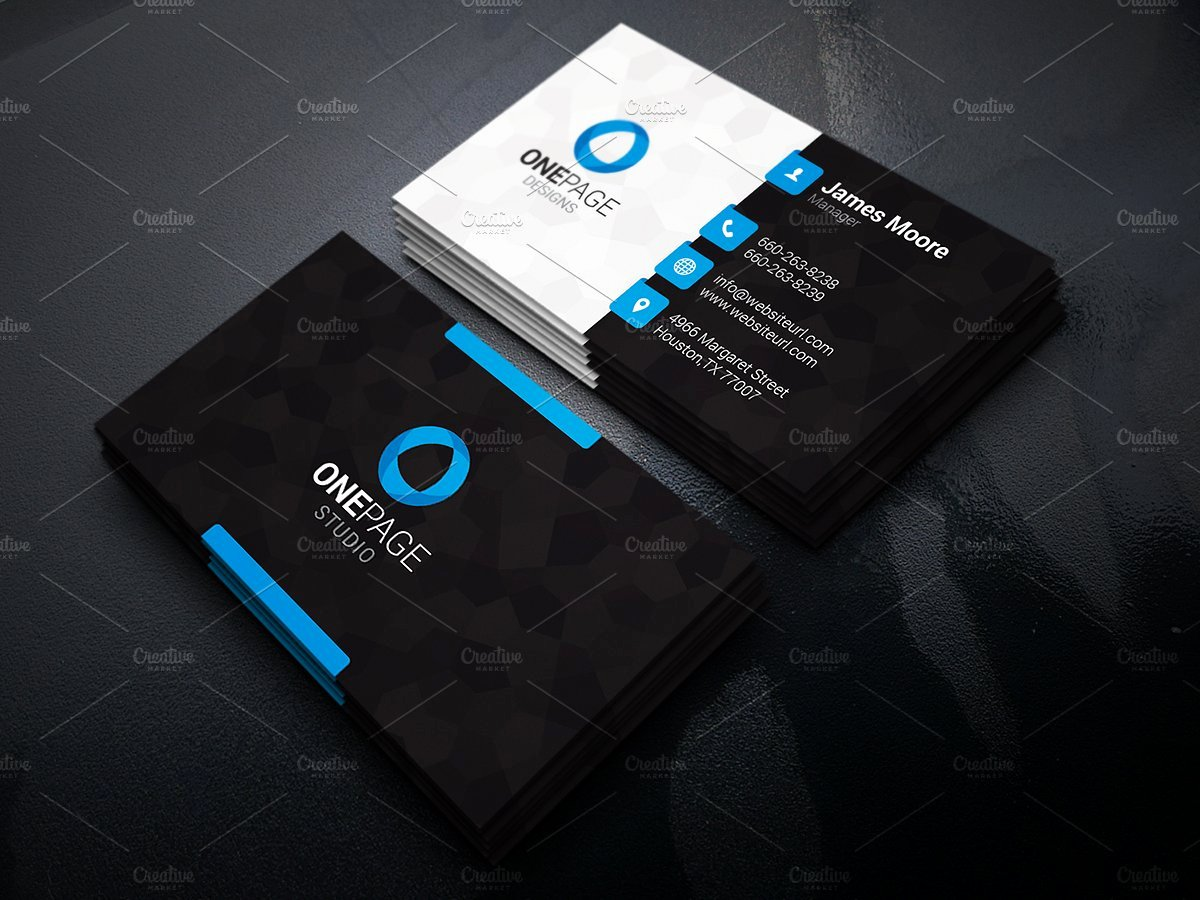 Cool Business Card Templates Business Card Design