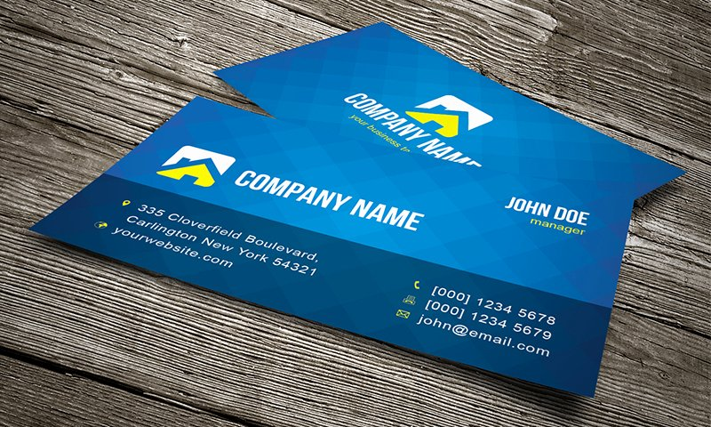 Cool Creative Business Card Template Free Download Cv