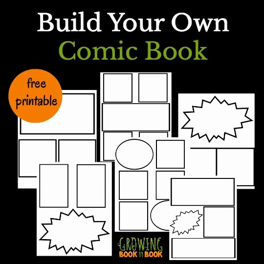 Cool Ic Book Templates for Kids
