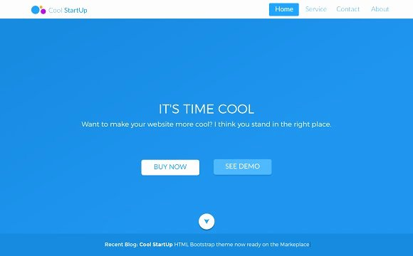 Coolstartup HTML Template & Sketch HTML Css themes