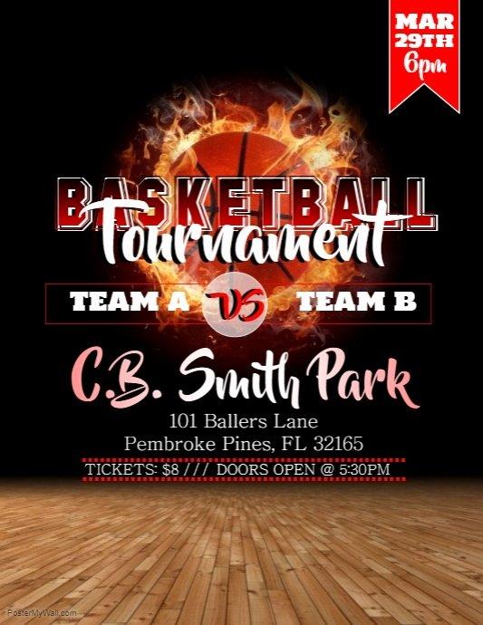 Copy Of Basketball tournament Flyer