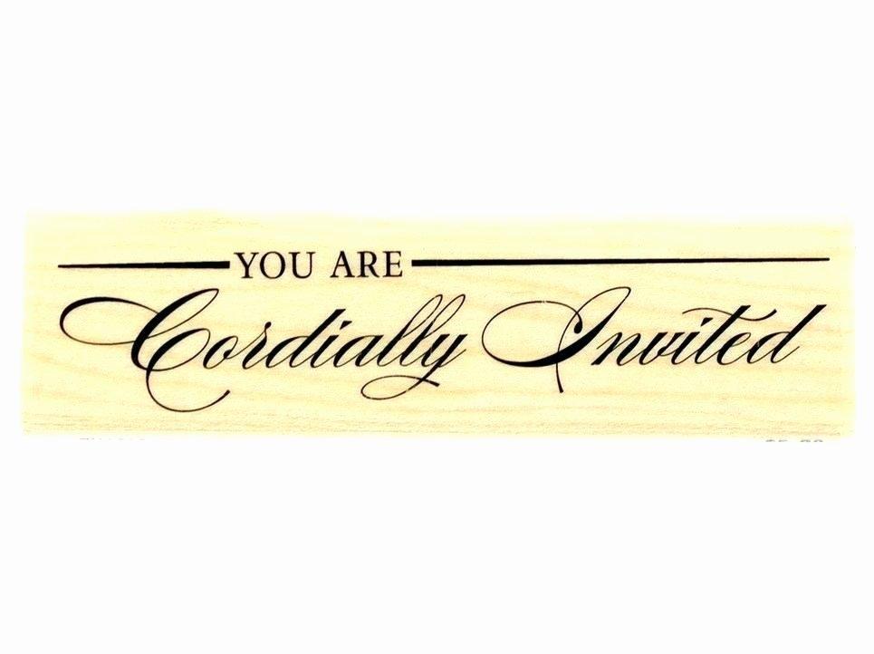Cordially Invited Template Cordially Invited Invitation