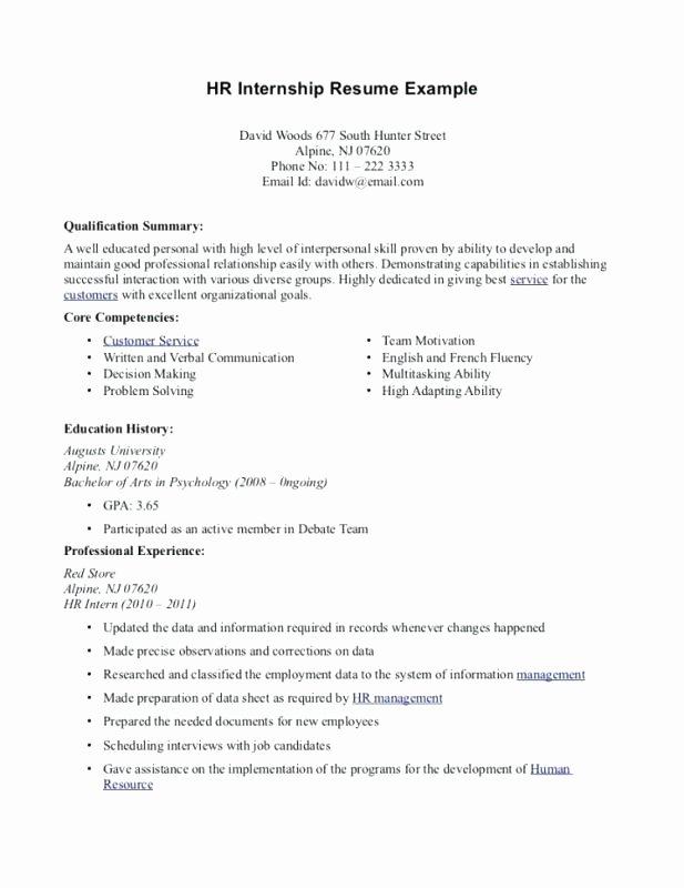 Core Petencies Resume Examples for Teachers