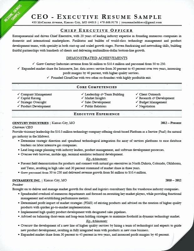 Core Qualifications Examples for Resume