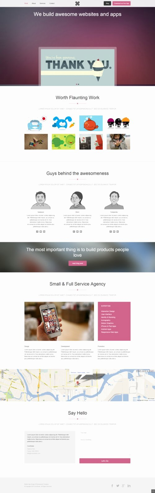 Corestudio Responsive E Page HTML5 Template by