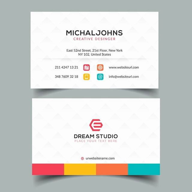 Corporate Business Card Eps Template Template for Free