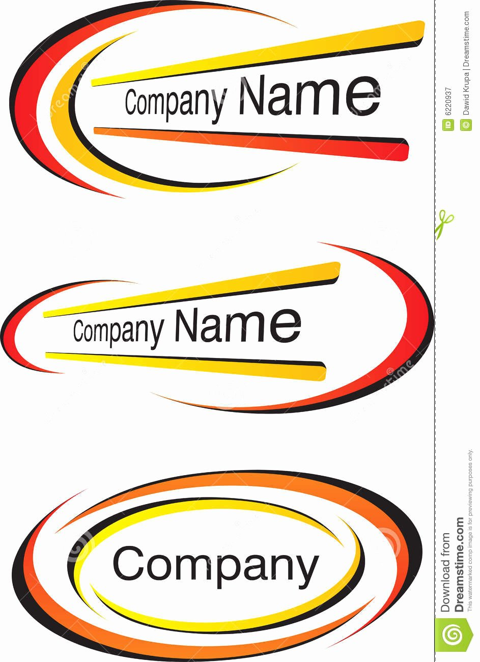 Corporate Logo Templates Royalty Free Stock Graphy