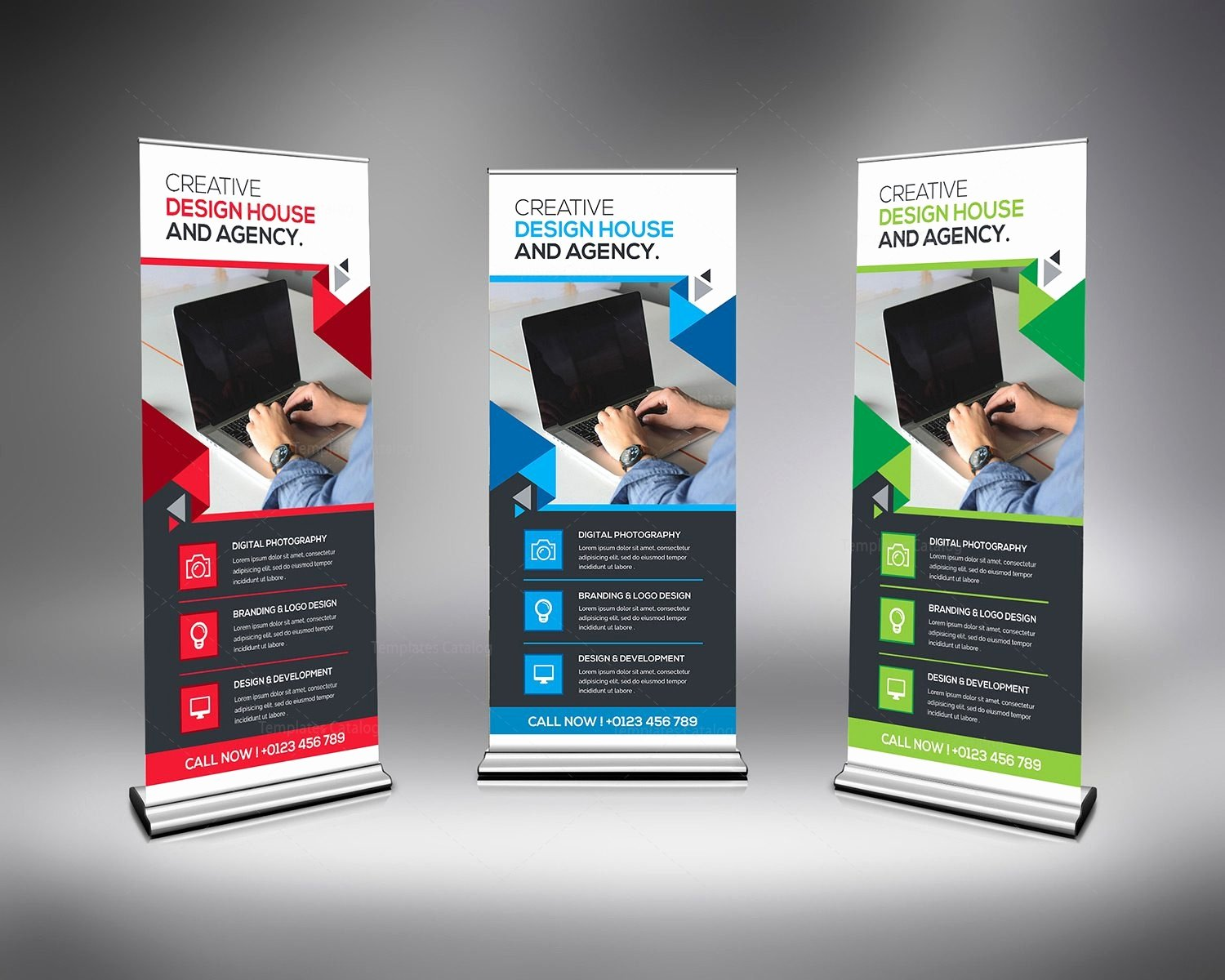 Corporate Rollup Banner Template Template Catalog