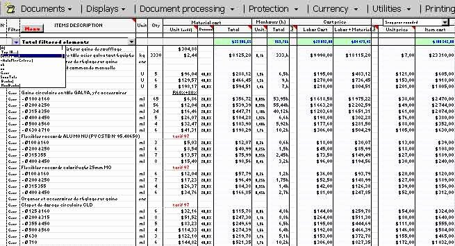 Cost Breakdown Template Excel Archives Constructupdate