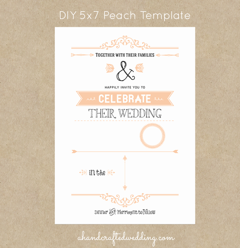 Country Wedding Invitation Templates Free