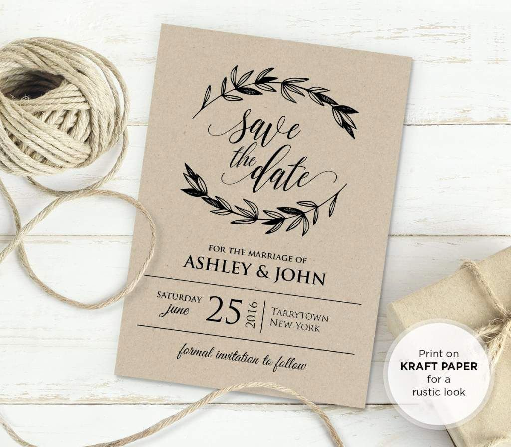 Country Wedding Invitation Templates Instagramfr