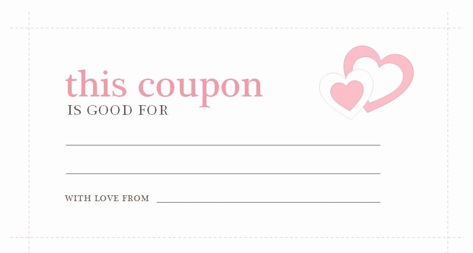 Coupon Template Word