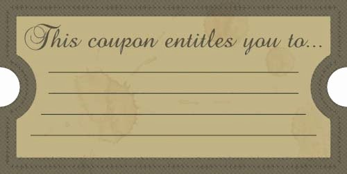 Coupon Templates for Word Invitation Template