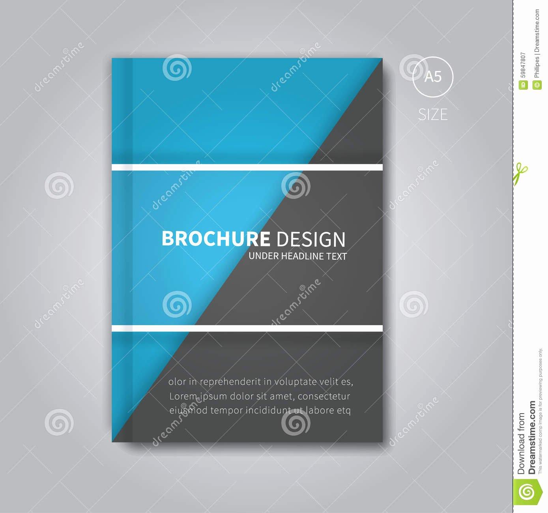 cover book digital design tablet concept template