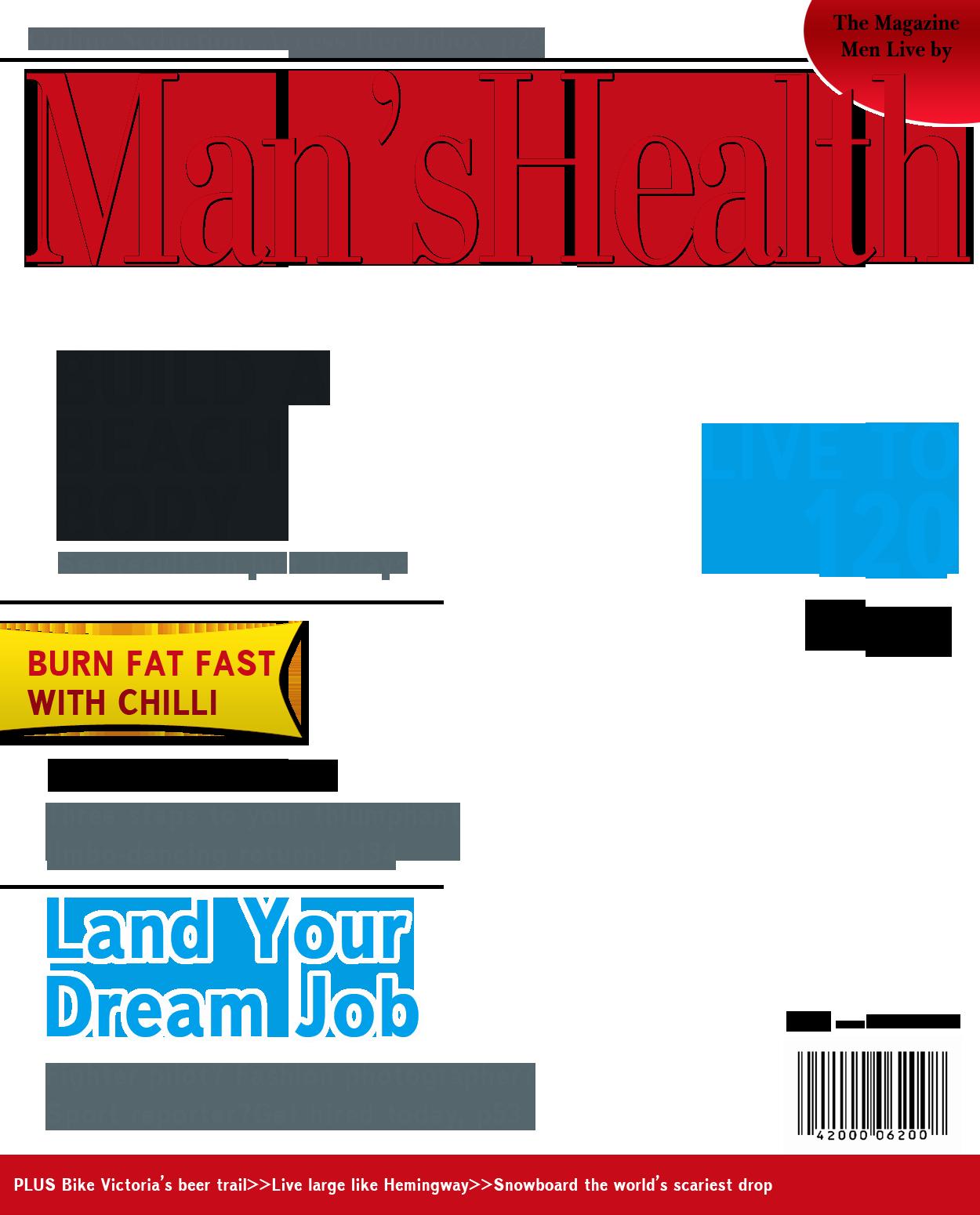 Cover Free Download Magazine Cover Template Magazine