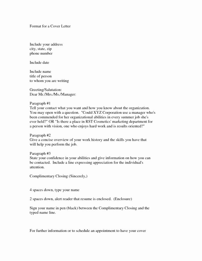 Cover Letter Dear Hiring Manager