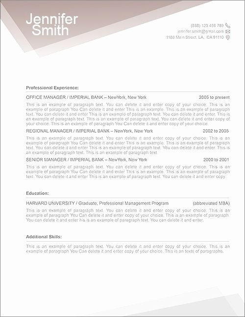 Cover Letter Example Cover Letter Template Mac