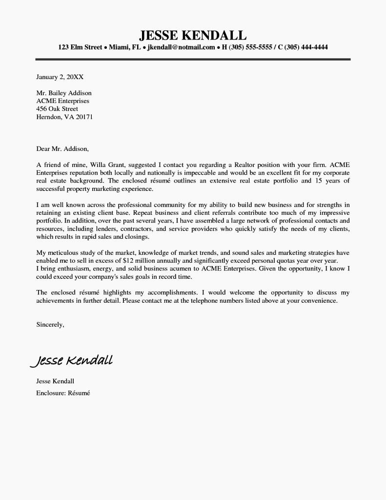cover letter examples for rhit