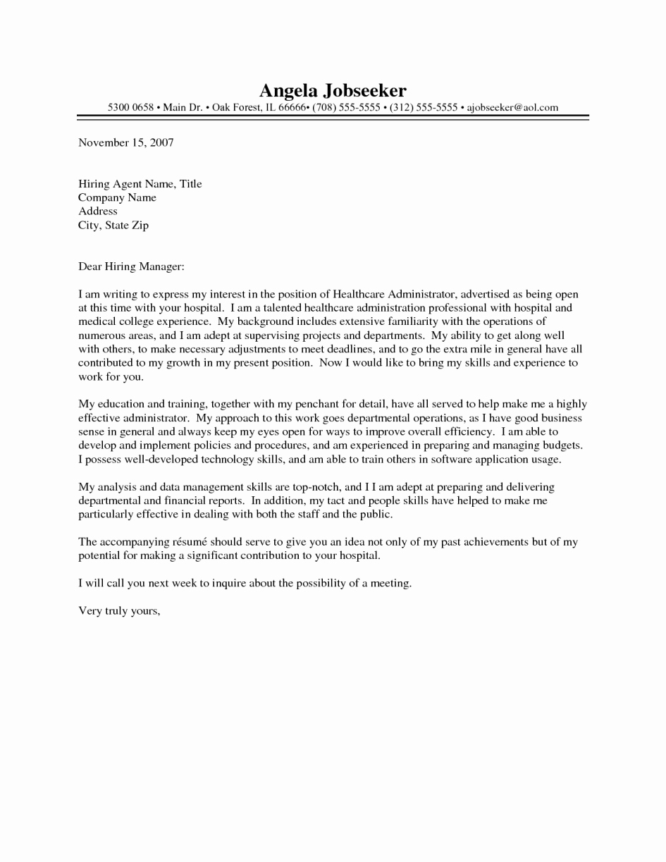 Cover Letter Examples for Medical Billing and Coding