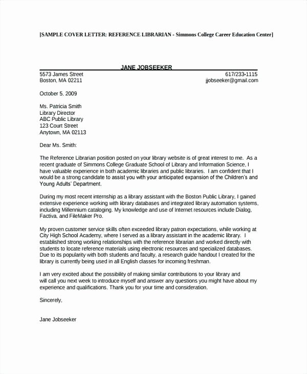 Cover Letter Examples Hr assistant