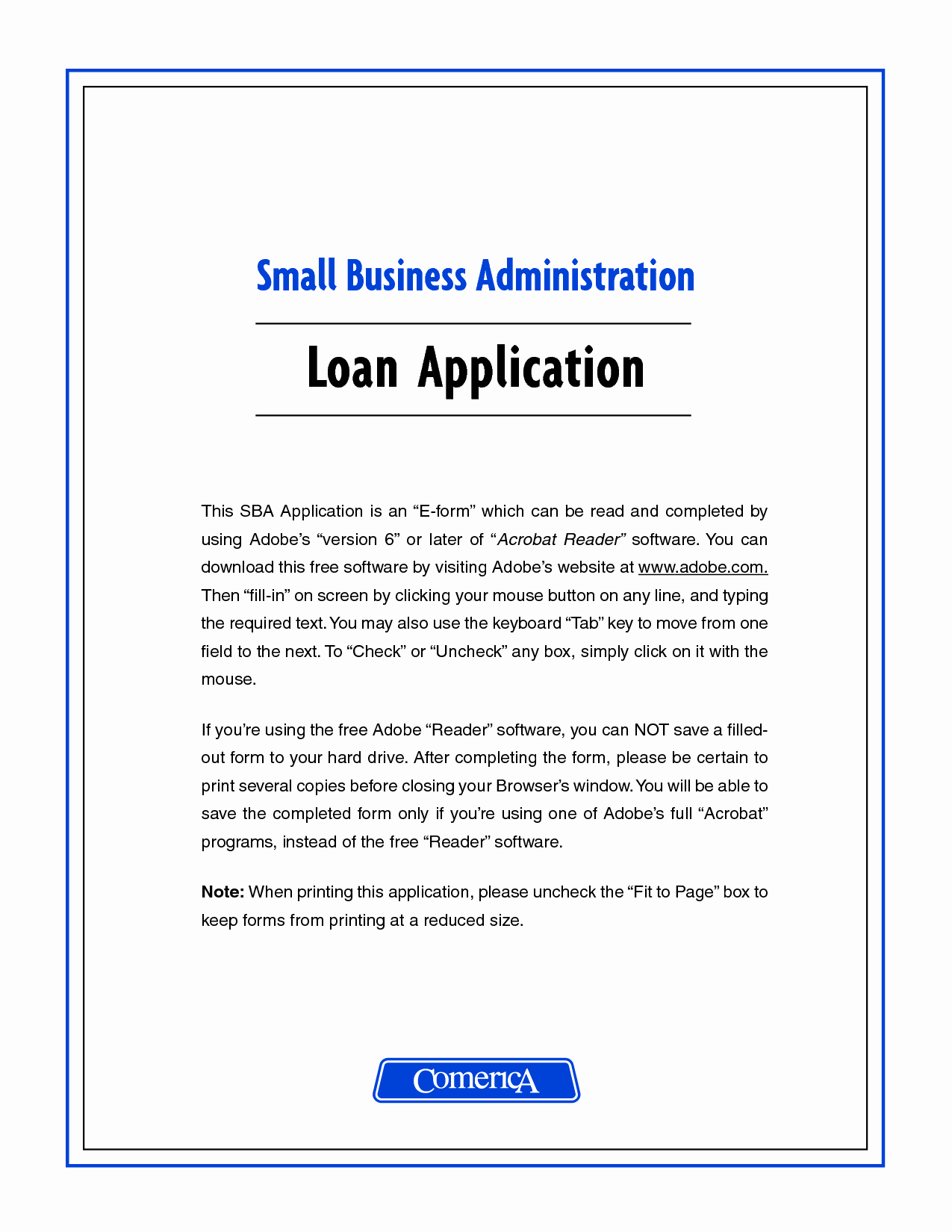 Cover Letter for Business Loan