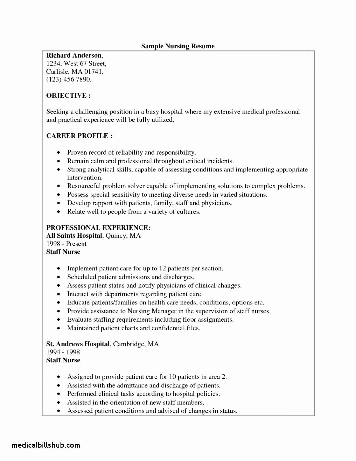Cover Letter for Cna Job In Hospital associates Degree
