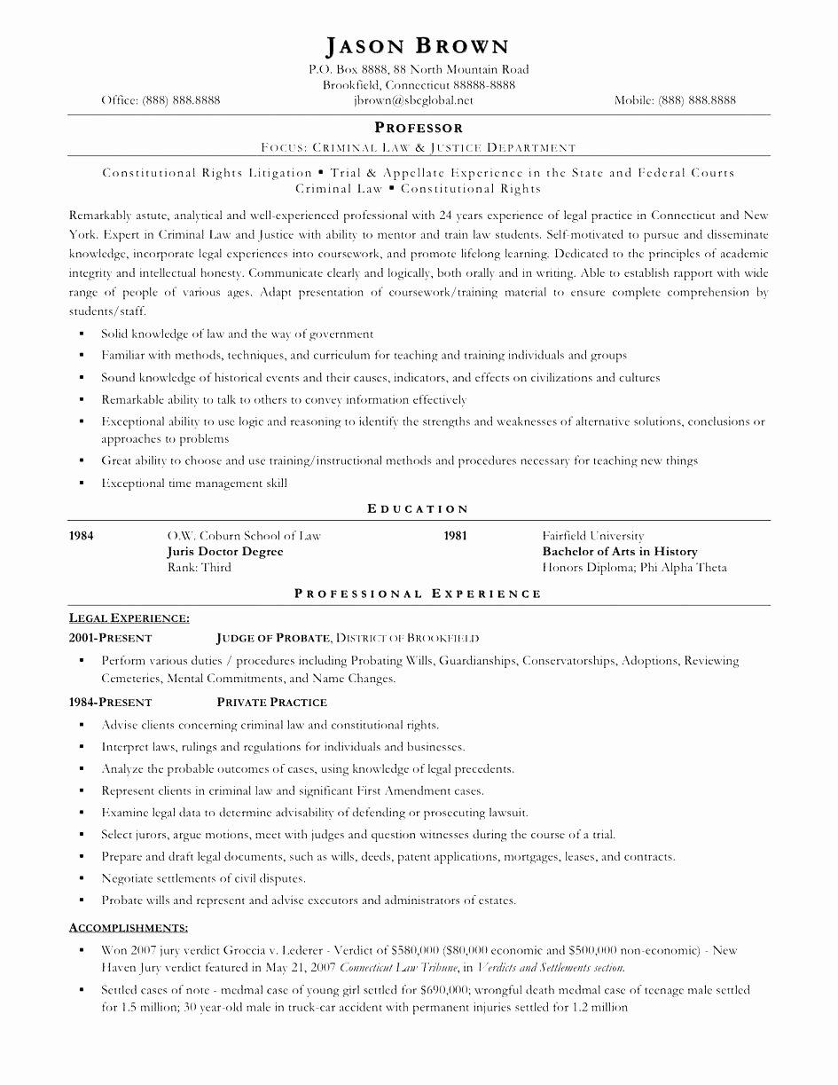 Cover Letter for Entry Level Paralegal Resume