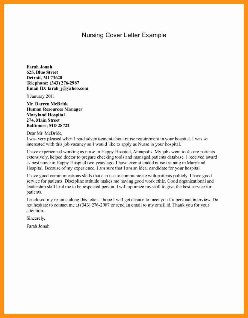 Cover Letter for Interview Day