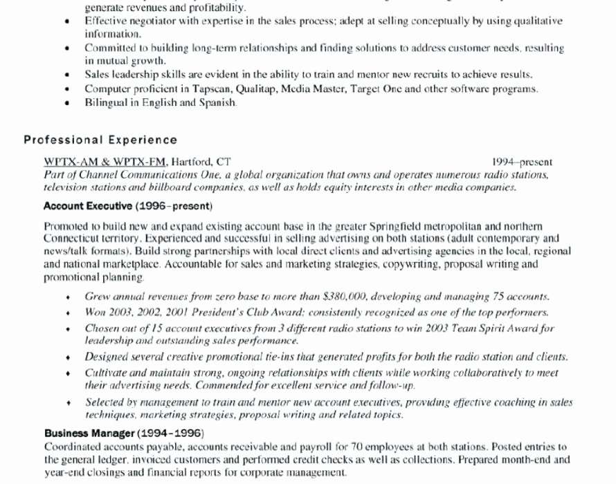 Cover Letter for Key Account Manager Position